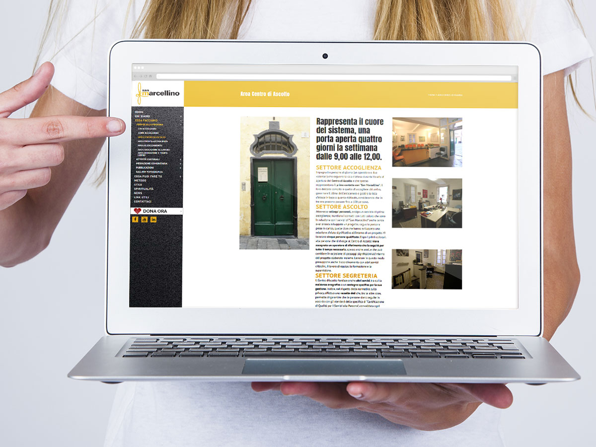 San Marcellino, Web design, Dpsonline –