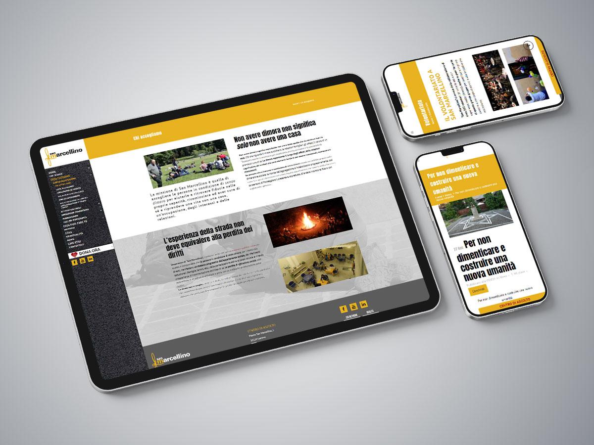 San Marcellino, Web design, Dpsonline