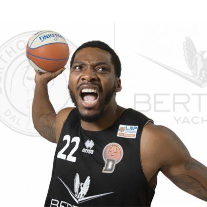 Derthona Basket Sanders Jamarr